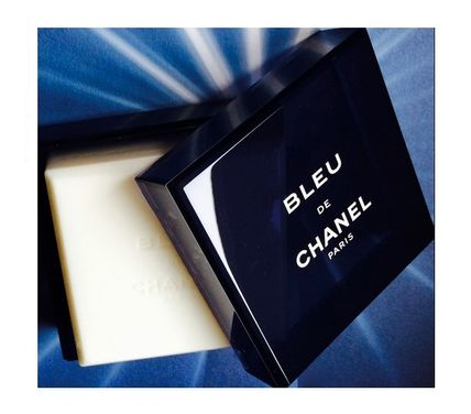 ★CHANEL★日本未発売★BLEU DE CHANEL SOAP 200g★ケース付