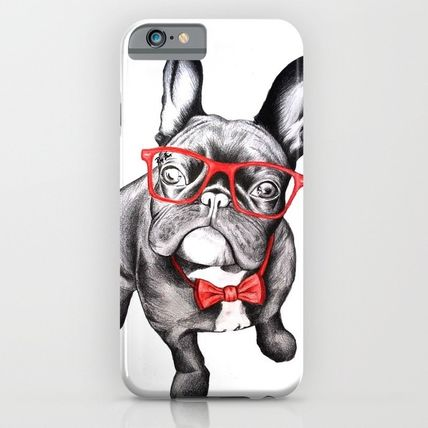 Society6 iPhone・スマホケース Society6 ケース Happy Dog by 13 Styx