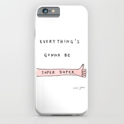 Society6 iPhone・スマホケース Society6 ケース everything's gonna be super duper