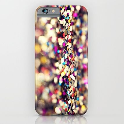Society6 iPhone・スマホケース Society6 ケース Rainbow Sprinkles - an abstract photograph