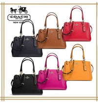 COACH★MINI CHRISTIE CARRYALL IN LEATHER  F36704 国内発送!