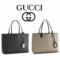 '15秋冬新作 ☆Gucci☆ Reversible GG Leather Tote M♪