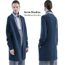 ACNE Raya Sh Mohair Dusty Blue ラヤ カーディガン ブルー