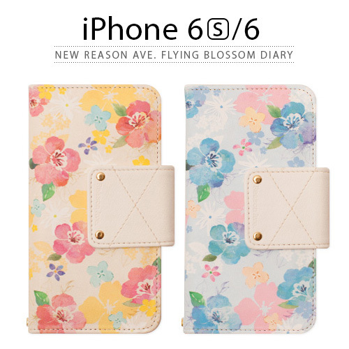 iPhone6s/6ケース手帳型 Happymori New Reason Ave.ハッピーモリ
