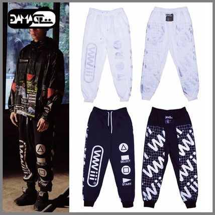 New GD DAMAGE logo swettjoger pants-UNISEX