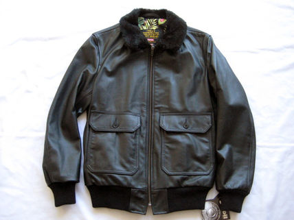入手困難!12S/S Supreme Schott Leather Flight Jacket黒