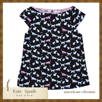 kate spade 大人もOK! 猫柄の可愛いトップス