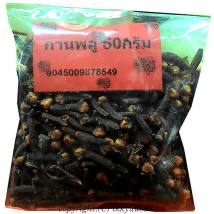 Cockroaches avoid dried cloves 50 g