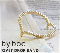 【By boe】RIVET DROP BAND ラージ