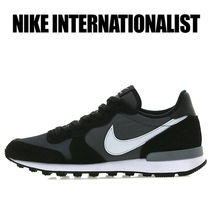 NIKE★INTERNATIONALIST★DARK GREY PURE BLACK★安心配送