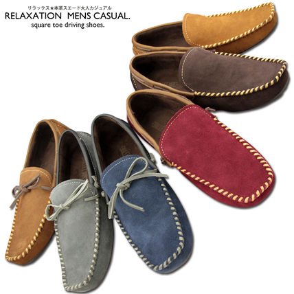 Brand new leather authentic selenge driving shoes