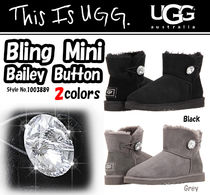 【国内安心発送】UGG アグ Bailey Button Mini Bling