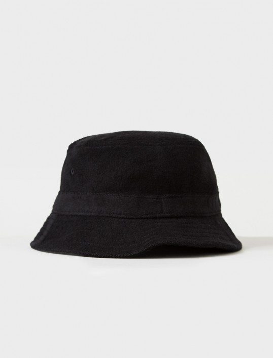 ステューシー 132727 STOCK TERRY BUCKET HAT BLACK