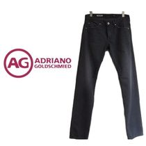 AG/ADRIANO GOLDSCHMIED(エージー/アドリアーノゴールドシュミット) パンツ AG JEANS スリム ストレート ジーンズ ダークグレー