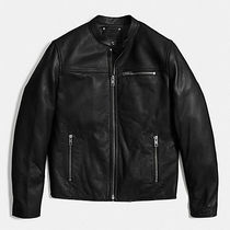 ☆COACH☆ Leather Racer Jacket F85825
