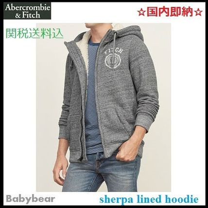 【Abercrombie & Fitch】国内即納 sherpa lined hoodie