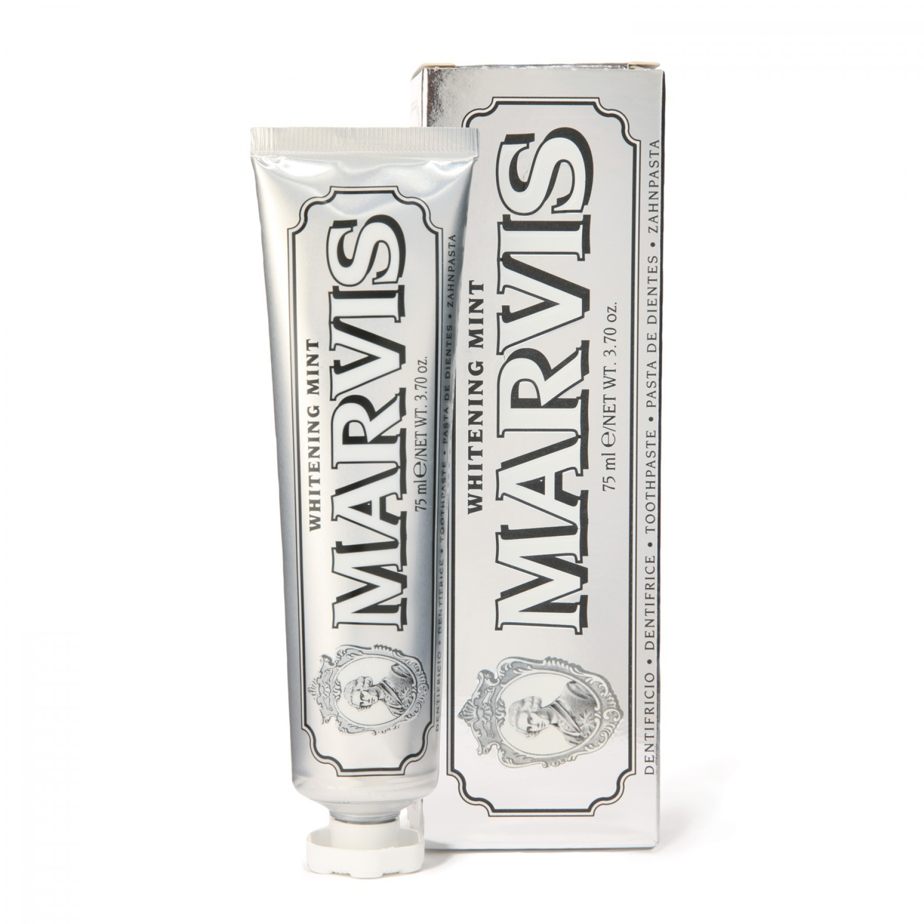 【パリで購入】Marvis♡ Whitening Mint Toothpaste 75ml