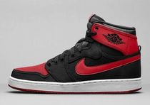 【送料込】NIKE AIR JORDAN 1 KO HIGH OG BRED 赤 黒 ジョーダン