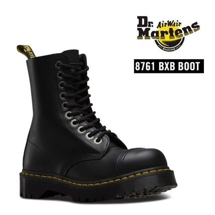 Dr. Martens 8761 BXB thick steel toe boots