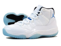 NIKE AIR JORDAN 11 RETRO LEGEND BLUE 白x水色 size 10