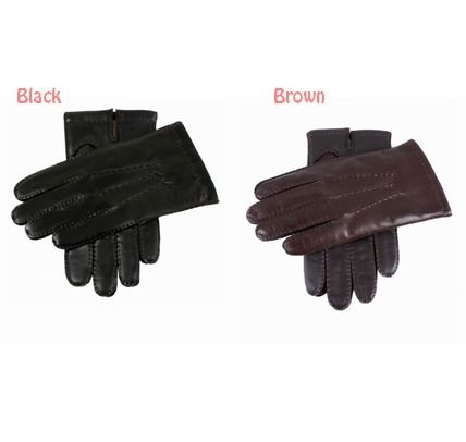 Use DENTS Smartphone leather cashmere gloves