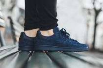 大人気adidas Originals Stan Smith-suede  新作 ネイビー