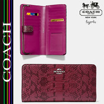 COACH★セール☆SKINNY WALLET IN EXOTIC EMBOSSED LEATHER♪