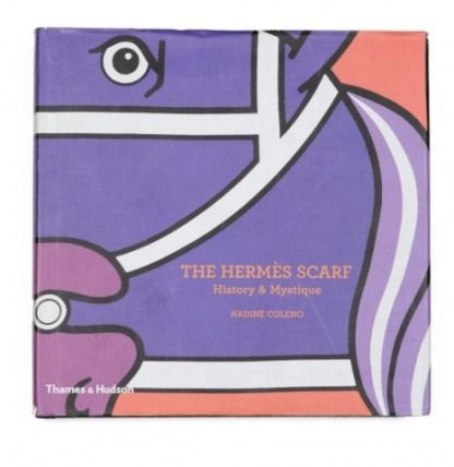 HERMES-a fashionable scarf history book