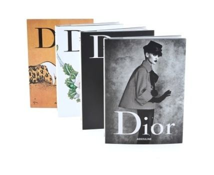 Christian Dior-different items book 3 book set