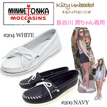 ■即納■MINNETONKA KILTY UNBEADED #204/209 )モカシンシューズ