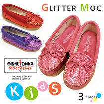 ■即納■MINNETONKA GLITTER MOC for children's #2814モカシン