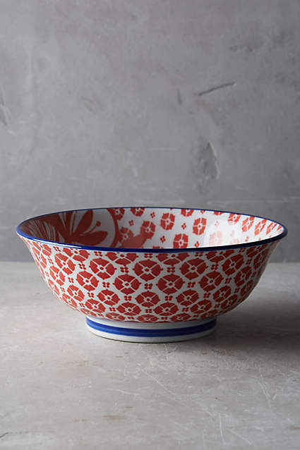 16SS*最安値【Anthro】チョイス可 Inside Out Serving Bowl 1点
