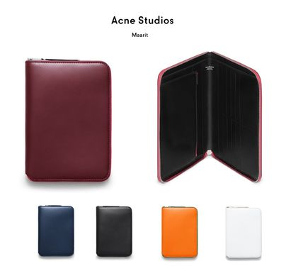 ACNE Maarit a large leather wallet 特大レザーウォレット 5種