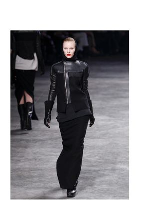 ♦ collection using the RICK OWENS leather glove ♦ gloves