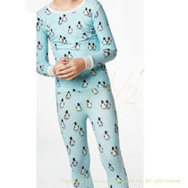 BedHead Pajamas ストレッチ キッズパジャマ Blue Penguins 12