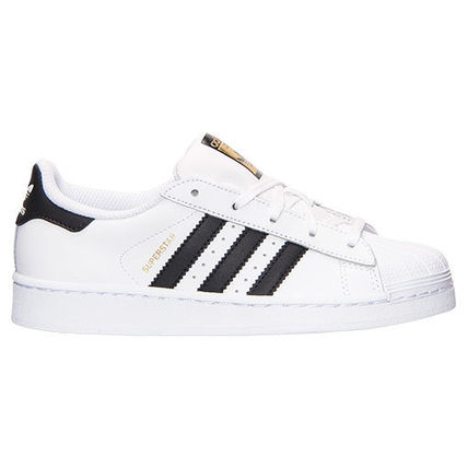 ADIDAS SUPERSTAR PS WHITE BLACK 白黒 17-21.5cm 送料無料