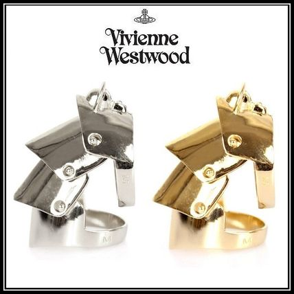 *Vivienne Westwood*スタイリッシュ甲冑style GOLDリング