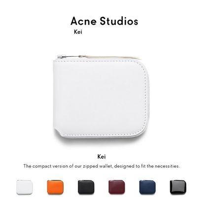 ACNE ACNE Kei leather wallet スモールサイズ レザーウォレット