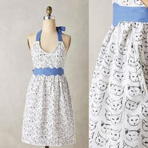 NEW!国内発送Anthropologie*Cat Studyエプロン♪