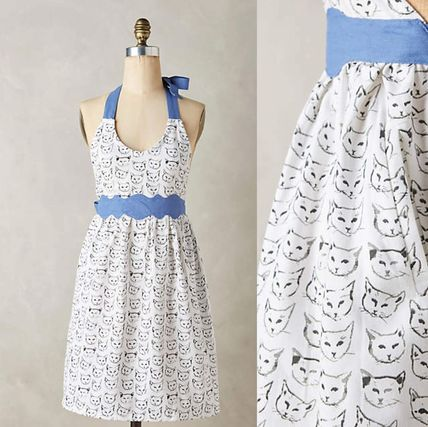 Cat Study * NEW Anthropologie apron
