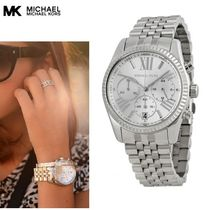 税送料込【Michael Kors】LexingtonシルバーMK5555