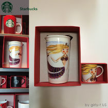 即発☆STARBUCKS☆ Siren Double Wall Traveler+Demi Mug セット