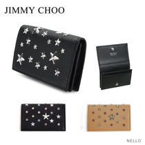 【2016 SS】【JIMMY CHOO】NELLO Deerskin with Crystal Stars
