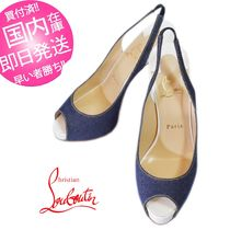 【CHRISTIAN LOUBOUTIN】PRIVATE NUMBERオープントゥ★37/C162