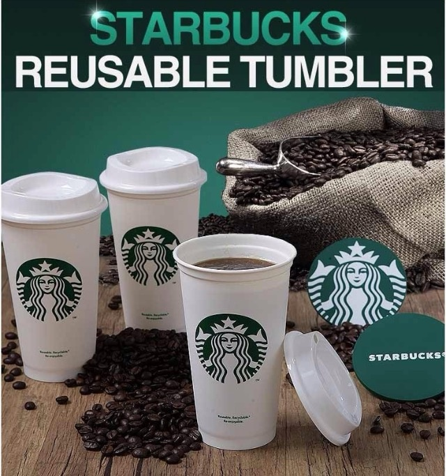 Starbucks Reusable Coffee Cup