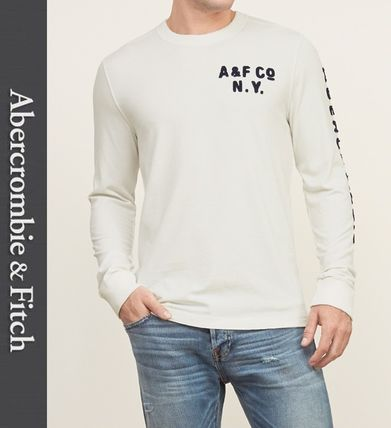 Abercrombie & Fitch Tシャツ・カットソー ★即発送★在庫あり★A&F★Applique Graphic Long Sleeve Tee★(2)