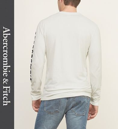 Abercrombie & Fitch Tシャツ・カットソー ★即発送★在庫あり★A&F★Applique Graphic Long Sleeve Tee★(3)