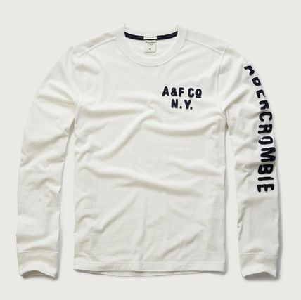 Abercrombie & Fitch Tシャツ・カットソー ★即発送★在庫あり★A&F★Applique Graphic Long Sleeve Tee★(4)