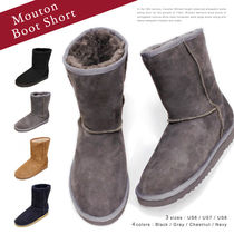 【2015-2016 AW】【POMPADOUR-ポンパドール-】Mouton Boot Short