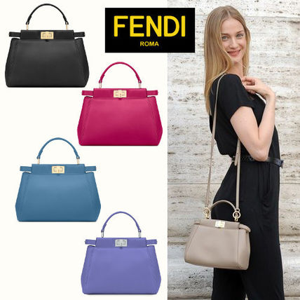 new product c8fb9 054b8 ☆FENDI☆ 大人気 It Bag!! 選べるカラー MINI PEEKABOO